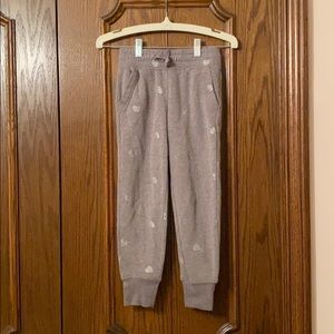 Girls old navy sweatpants size S (6-7)